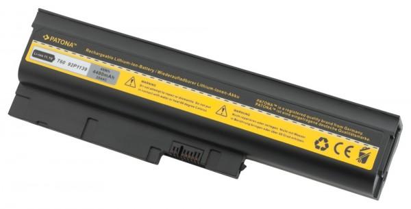 Notebookakku, Batterie, Akku f. IBM Lenovo ThinkPad T61 T60 R61  4400mAh