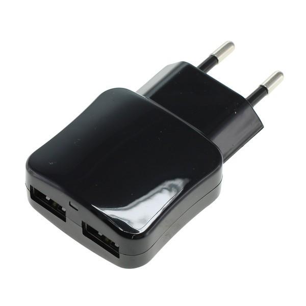 Doppel USB Netzteil black f. Asus Eee Pad Transformer TF101